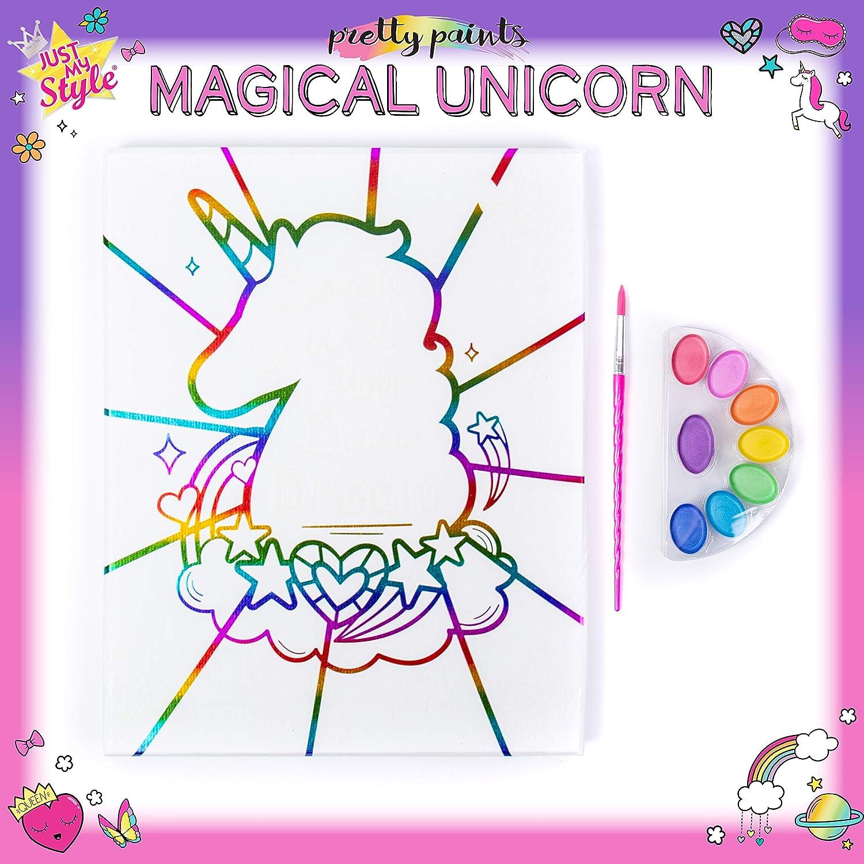 Unicorn Christmas pre drawn canvas Unicorn