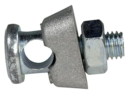 AS - Schwabe Earth Terminal Clamp for Grounding Rod/Cross