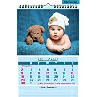 AccuPrints 2020 Cute Baby Design 12 Pages Wall Hanging Calendar and Planner (12 x 18 inches)