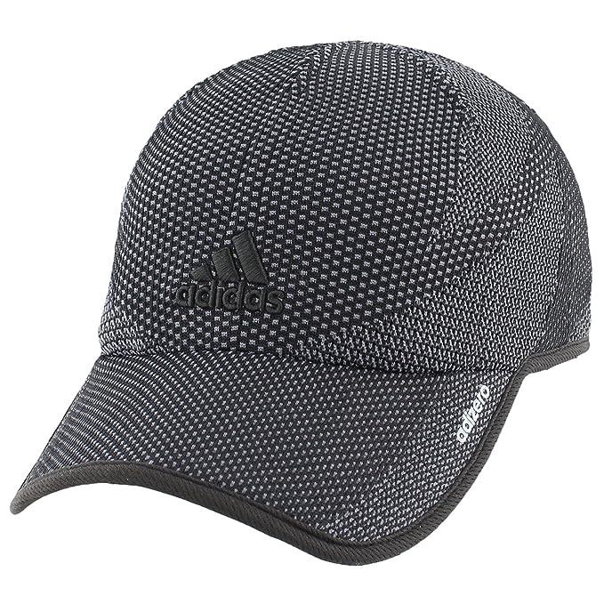 052bc563 Amazon.com: adidas Women's Adizero Primeknit Cap, Black/Onix, One ...
