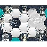 Doctor Who Desk Pad Official 2019 Calendar - Desk Pad Format