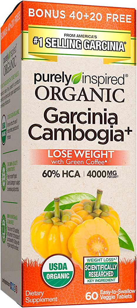 Amazon Com Purely Inspired Organic Garcinia 60 Count Health