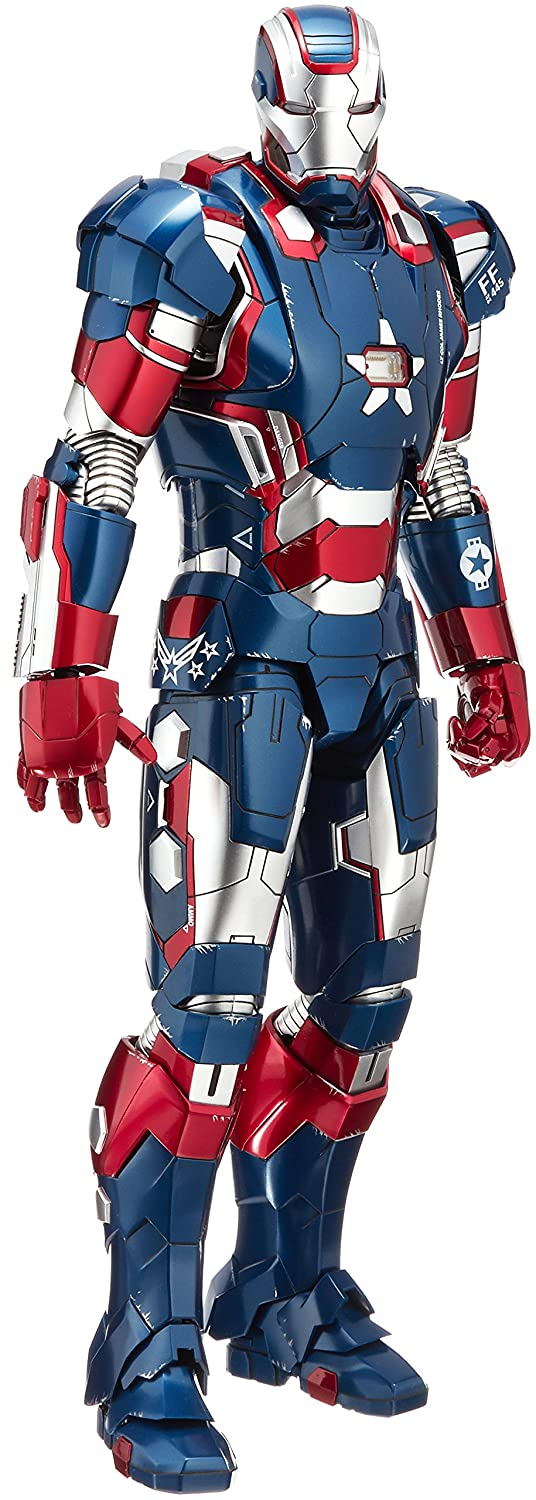 Movie Masterpiece DIECAST  Iron Man 3  1 6 Scale Action Figure Iron Patriot by HOT TOYS