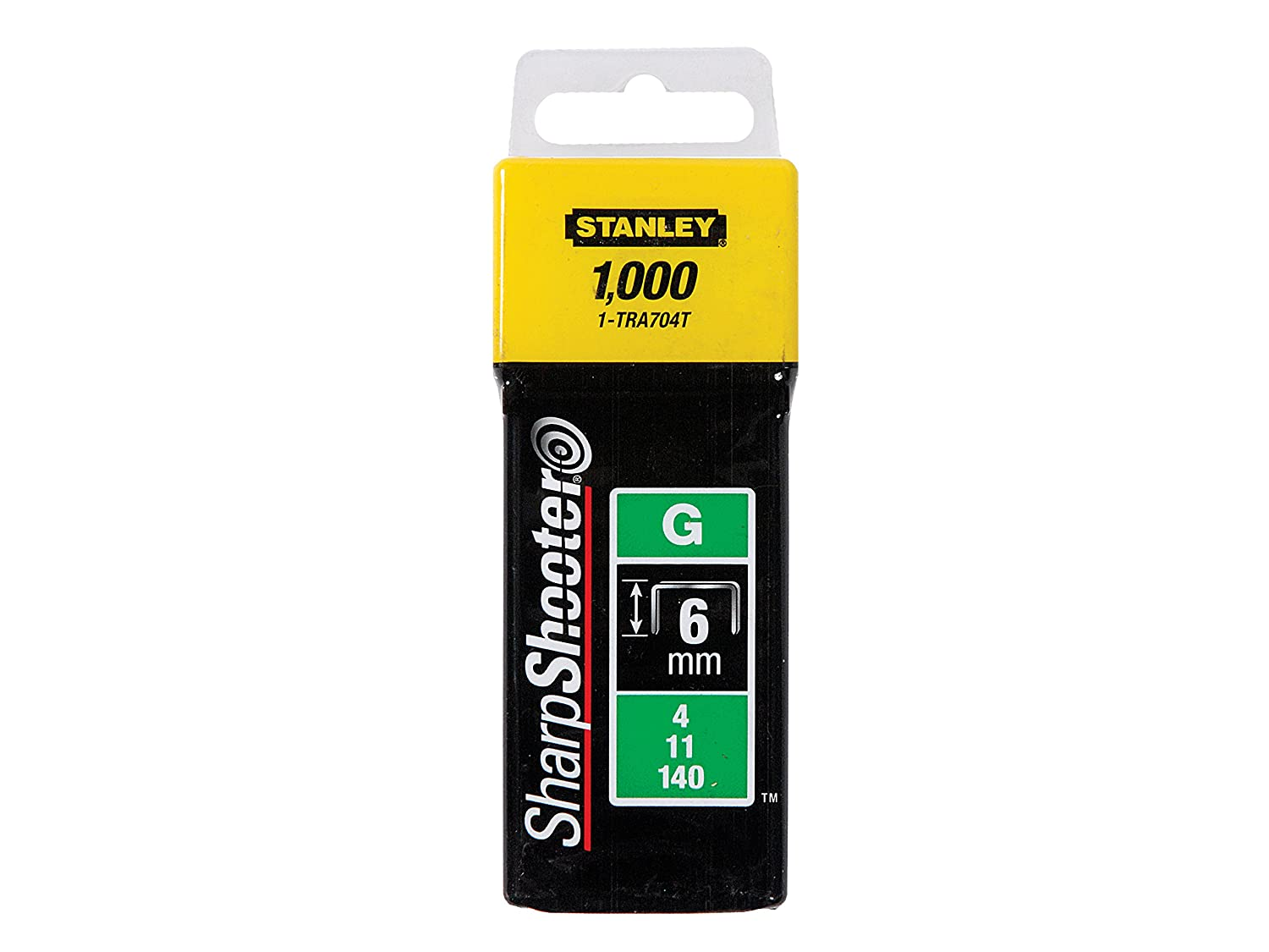 Grapa tipo g STANLEY 1-TRA705T 8mm 1000 u. 4//11//140