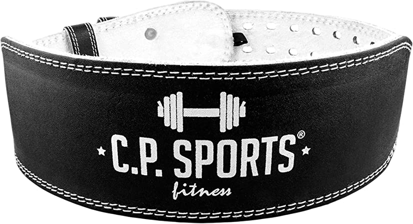 C.P Sports Ceinture dentrainement dhalt/érophilie en Cuir