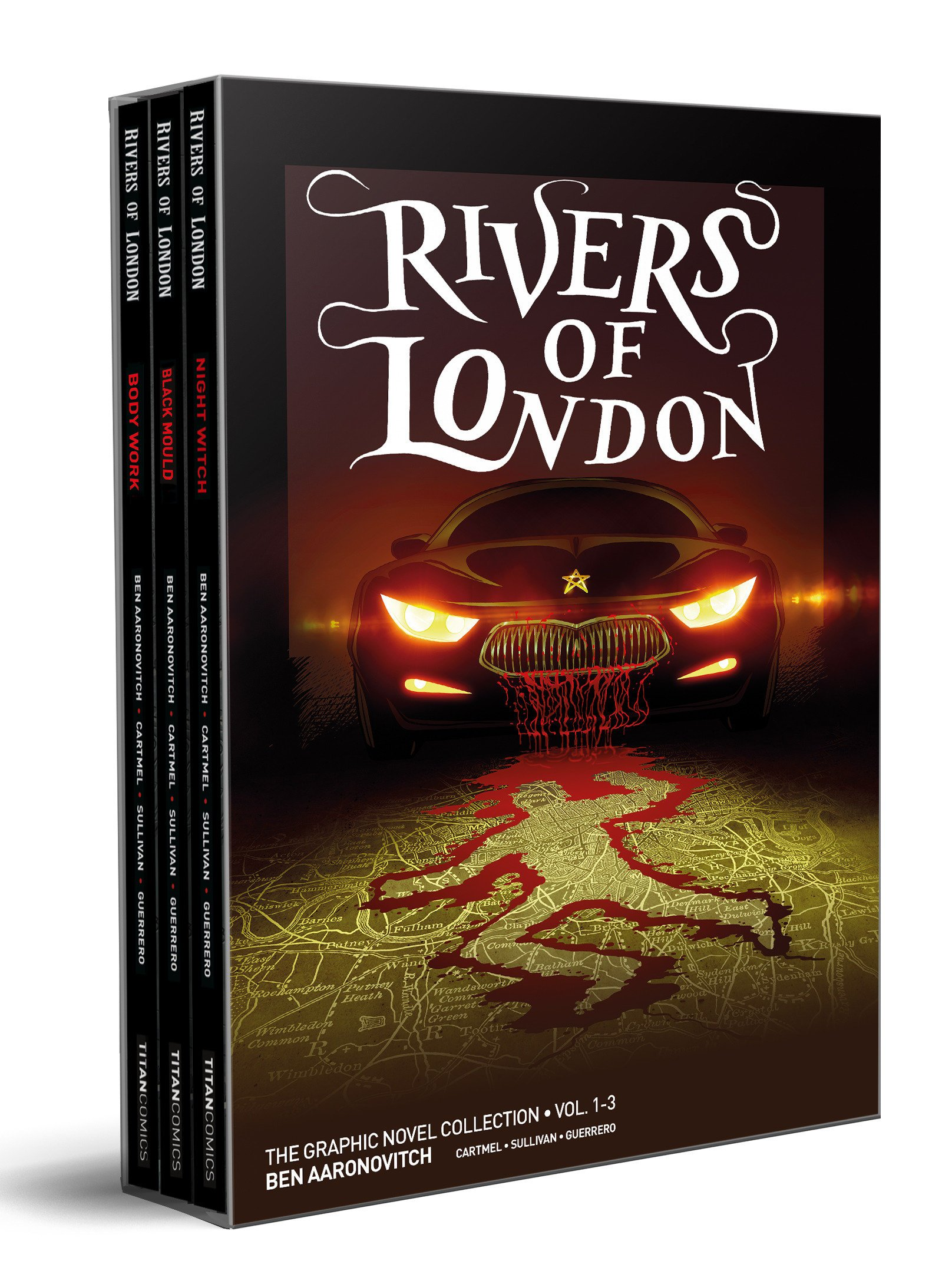 Rivers Of London Volumes 1 3 Boxed Set Edition