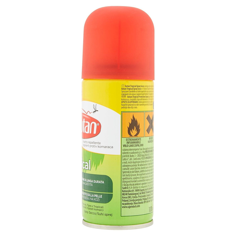 Autan Tropical Spray Secco 100 Ml Amazon Kitchen & Home