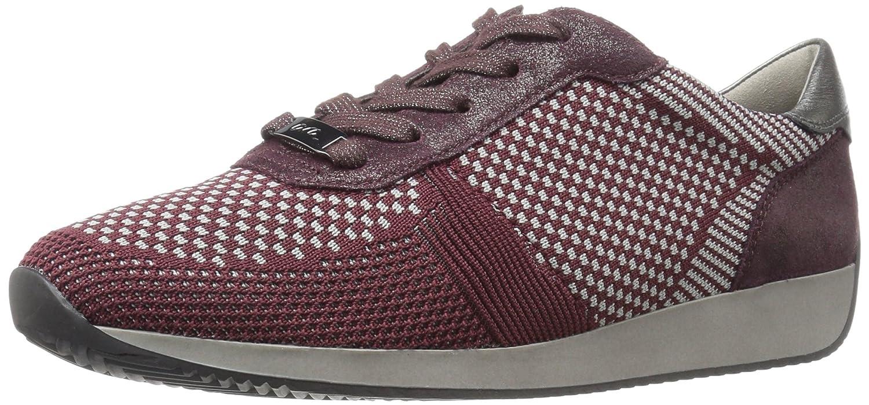 ara Women's Lilly Sneaker B071CH55T2 7 B(M) US|Brunello Woven