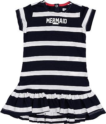 GULLIVER Vestido para Bebé Niña Casual Manga Corta Algodón de 9 Meses - 2 Años: Amazon.es: Ropa y accesorios