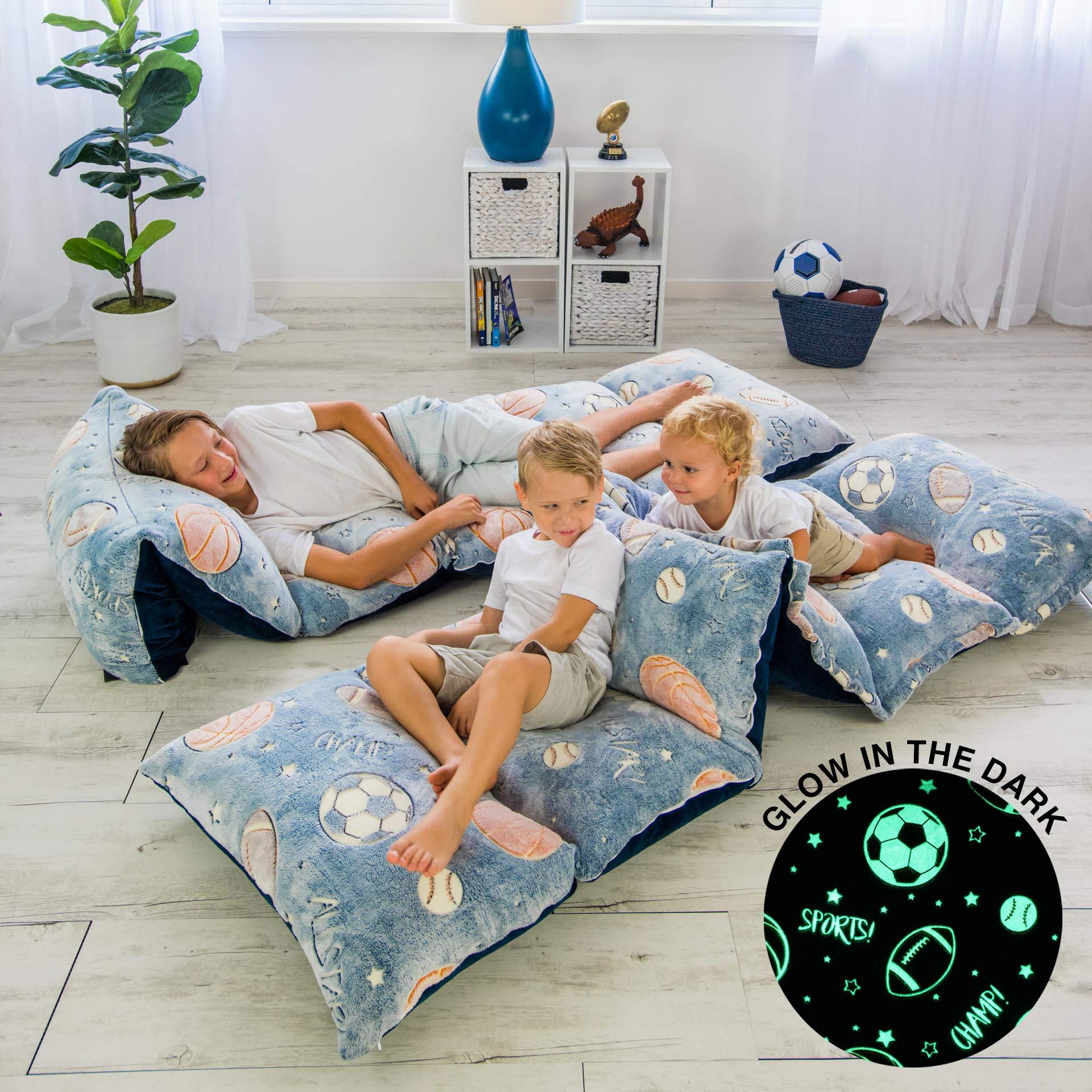 dark floor pillow cover