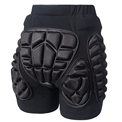 Legendfit Protective Padded Shorts for Ski Snowboard Skate Hip Butt Protection : Clothing