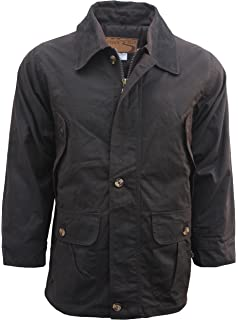 23c27505990 Outback Trail by Foxfire, Oilskin, Oilcloth, Waterproof Barn Coat Brown