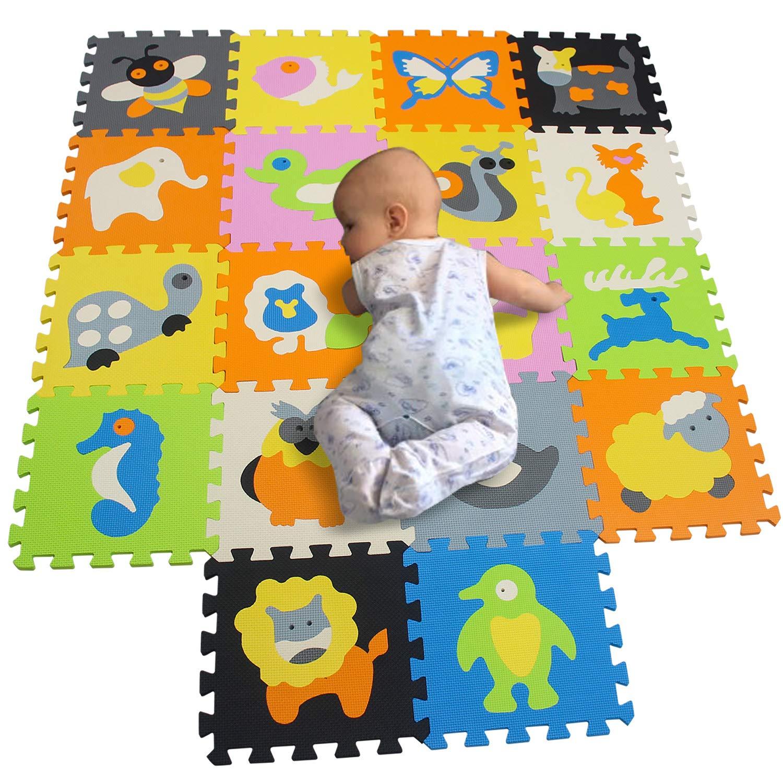 BUCHAQIAN Baby spielmatte kinderspielteppich kinderteppich Jungen puzzelmatte puzzlematte spieleteppich m/ädchen P014CS9G300918
