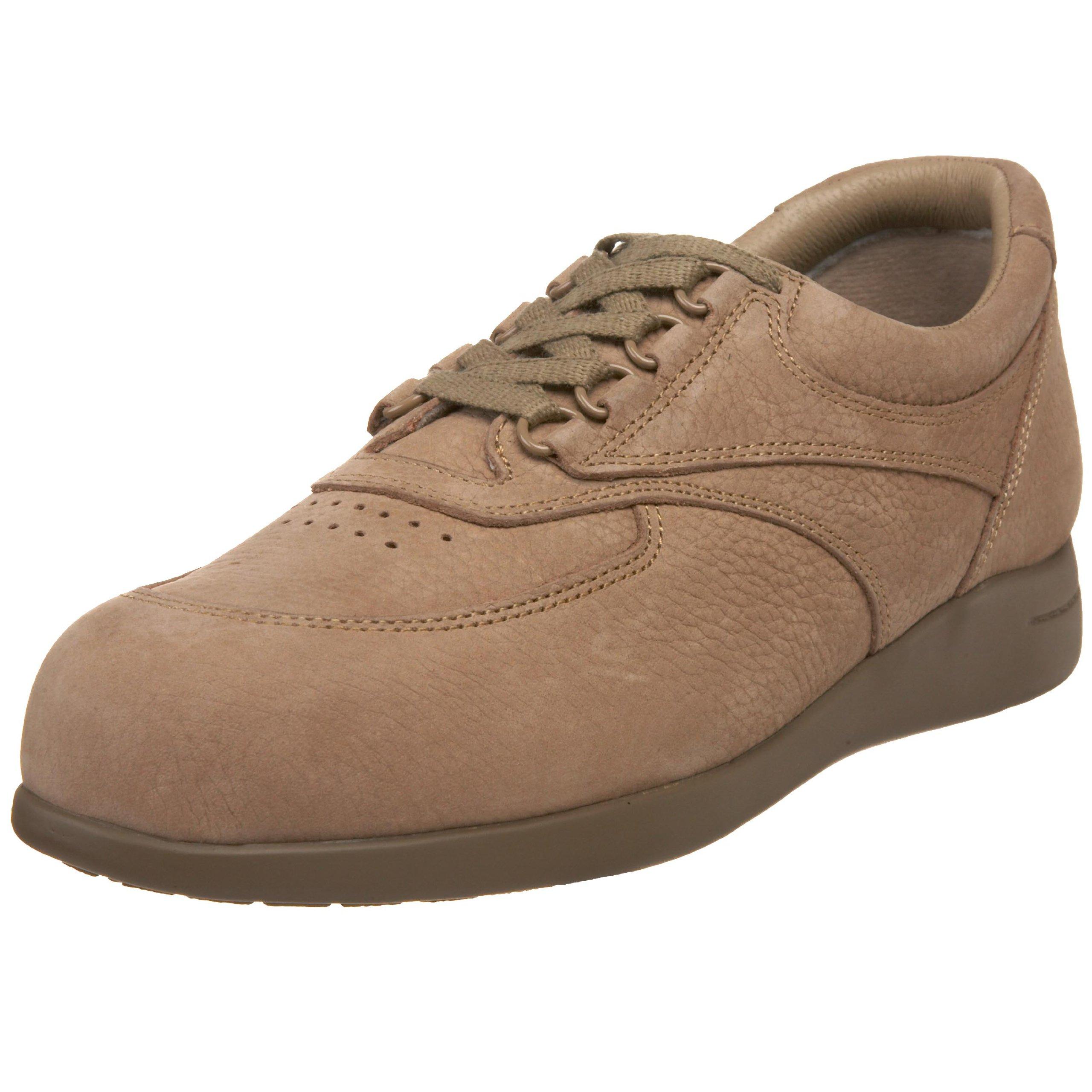 Drew Shoe Women's Blazer Oxford,Taupe Nubuck,6.5 WW US