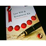 DELUXE LAST WILL AND TESTAMENT KIT, brand new and sealed, Latest Edition, direct from Publisher, includes FREE HELPBOOK with FULL INSTRUCTIONS, TWO WILL FORMS, FREE COMPLETED EXAMPLE WILL, FREE WILL STORAGE ENVELOPE, FREE LEGAL HELPLINE, Solicitor approved,