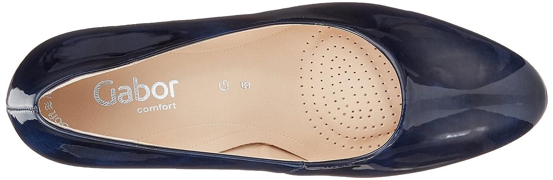 Gabor Damen Comfort Fashion Blau Pumps Blau Fashion (Marine) 2c8a6c