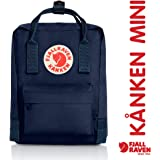 Fjallraven - Kanken-Mini Classic Pack, Heritage and Responsibility Since 1960, Royal Blue-Pinstripe Pattern