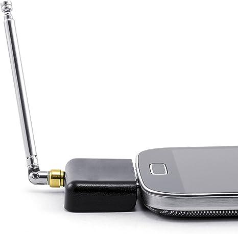 CSL - Miniadaptador de DVB-T | Receptor / sintonizador | Receptor de DVB-T para dispositivos Android | Interfaz micro USB | Arcsoft Total Media & iDTV | Smartphone / tableta / PC /