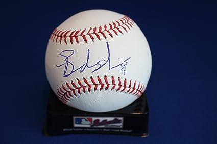 10c2c3c3 Autographed Brandon Nimmo Official Rawlings Major League Baseball w/ COA
