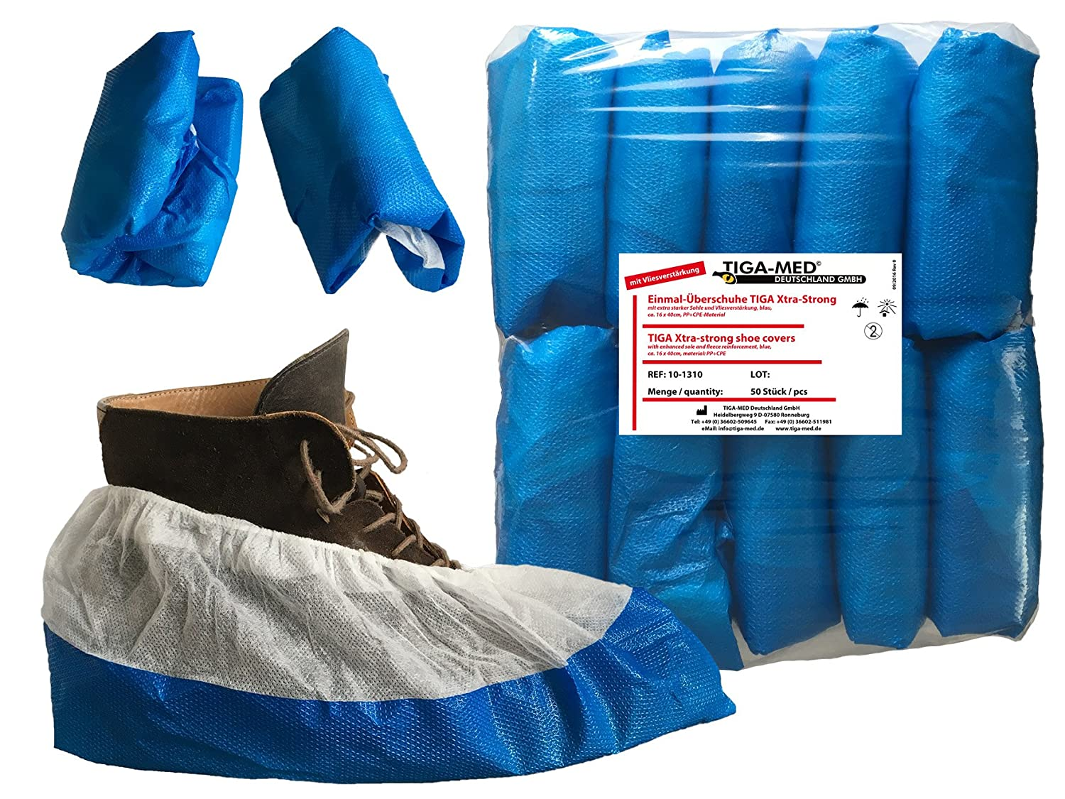 Disposable Overshoes TIGA-MED Professional Extra 9gr