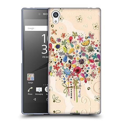 Offizielle Turnowsky Blühen Nitz Natz Soft Gel Hülle für Sony Xperia Z5 Premium / Dual