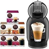 Nescafe Dolce Gusto Mini Me Coffee Machine (with 5 Capsule Boxes), Black