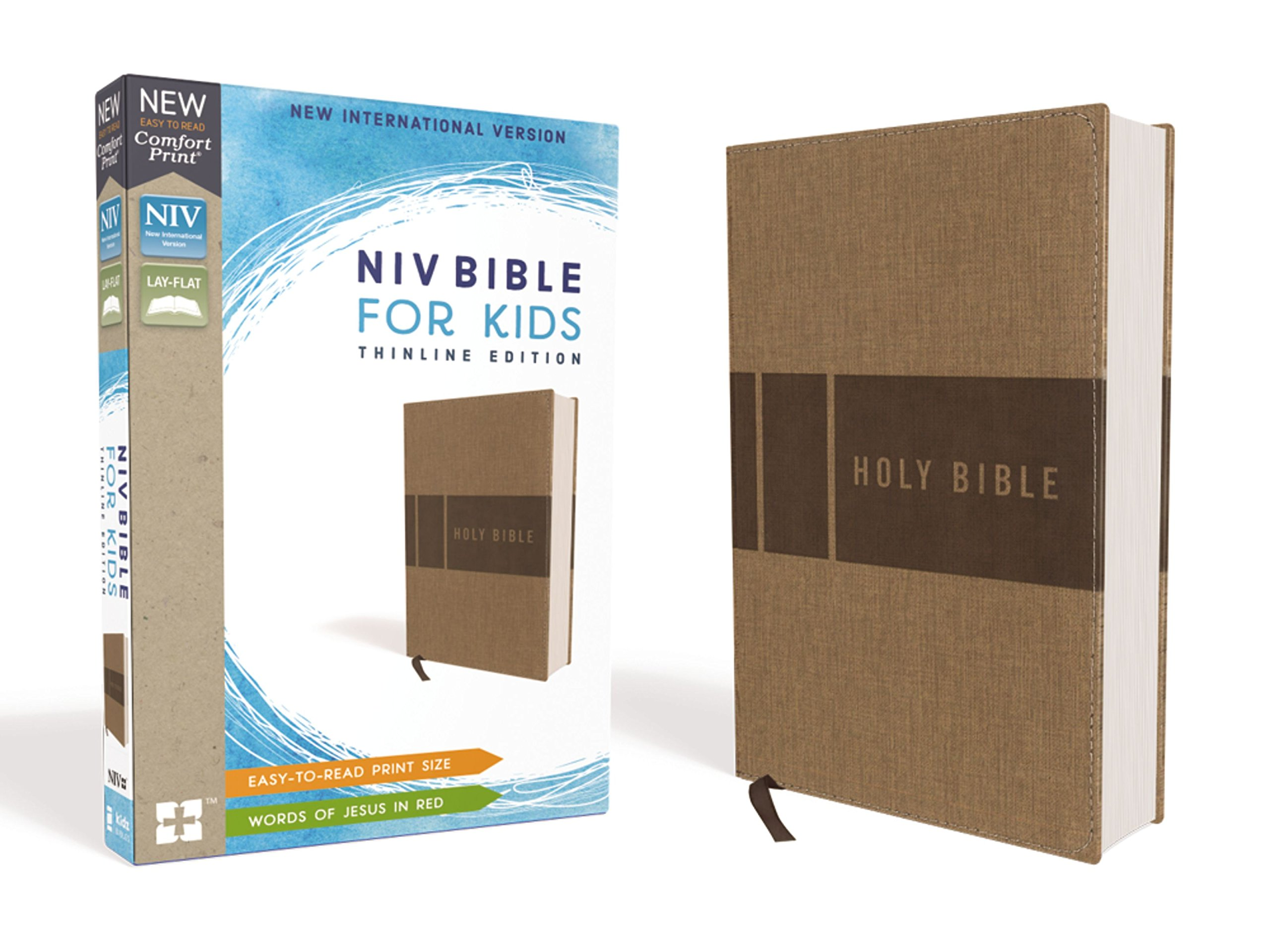 NIV, Bible for Kids, Leathersoft, Tan, Red Letter Edition, Comfort Print: Thinline Edition pdf