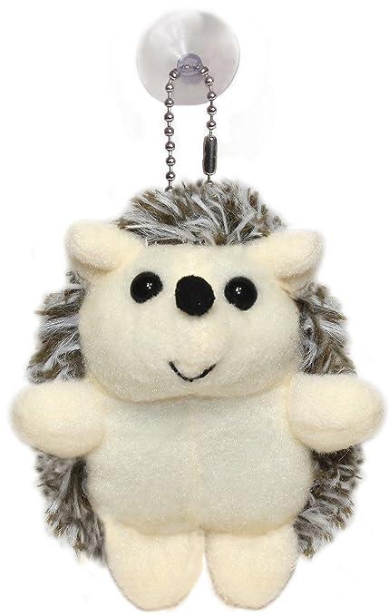 Amazon Com Lucore Happy Hedgehog Plush Stuffed Animal Keychain