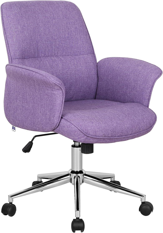 SixBros. Chaise de Bureau Violet 6M/6