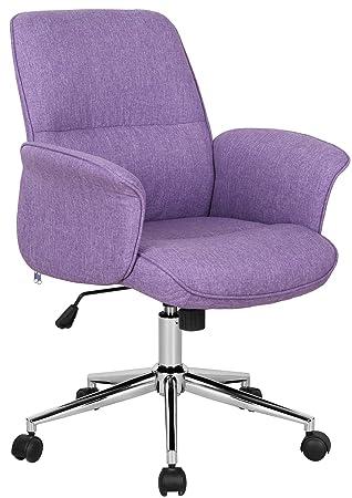 Chaise De Bureau Violet 0704M 3674