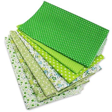 PsmGoods® precortada tela Patchwork Craft hoja de algodón ...
