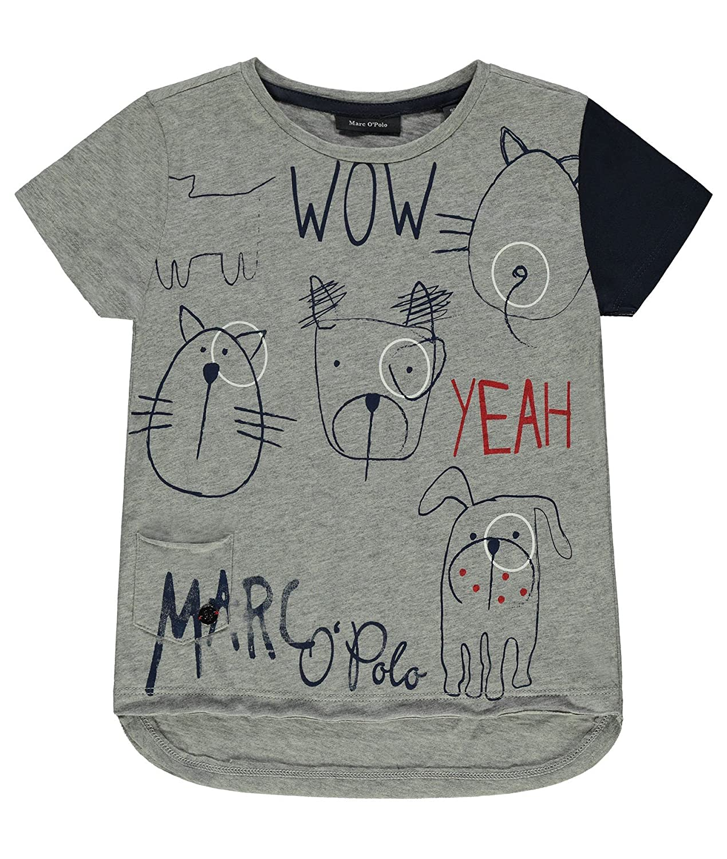 Marc OPolo T-Shirt 1/4 Arm, Camiseta para Niños, Grau (Softgrey ...