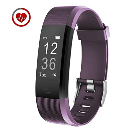Vigorun Fitness Armband YG3 Plus Fitness Tracker mit Pulsmesser 14 Trainingsmodi Aktivitätstracker Schrittzähler Kalorienzähl