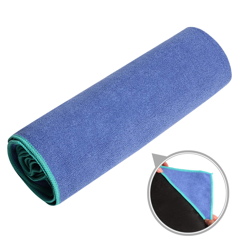 Stickfrease Hot Yoga Towel, Non Slip Quick Dry Lightweight Microfiber Yoga Mat Cover, Ideal for Hot Yoga, Pilates, Bikram, Sports,Workout & More