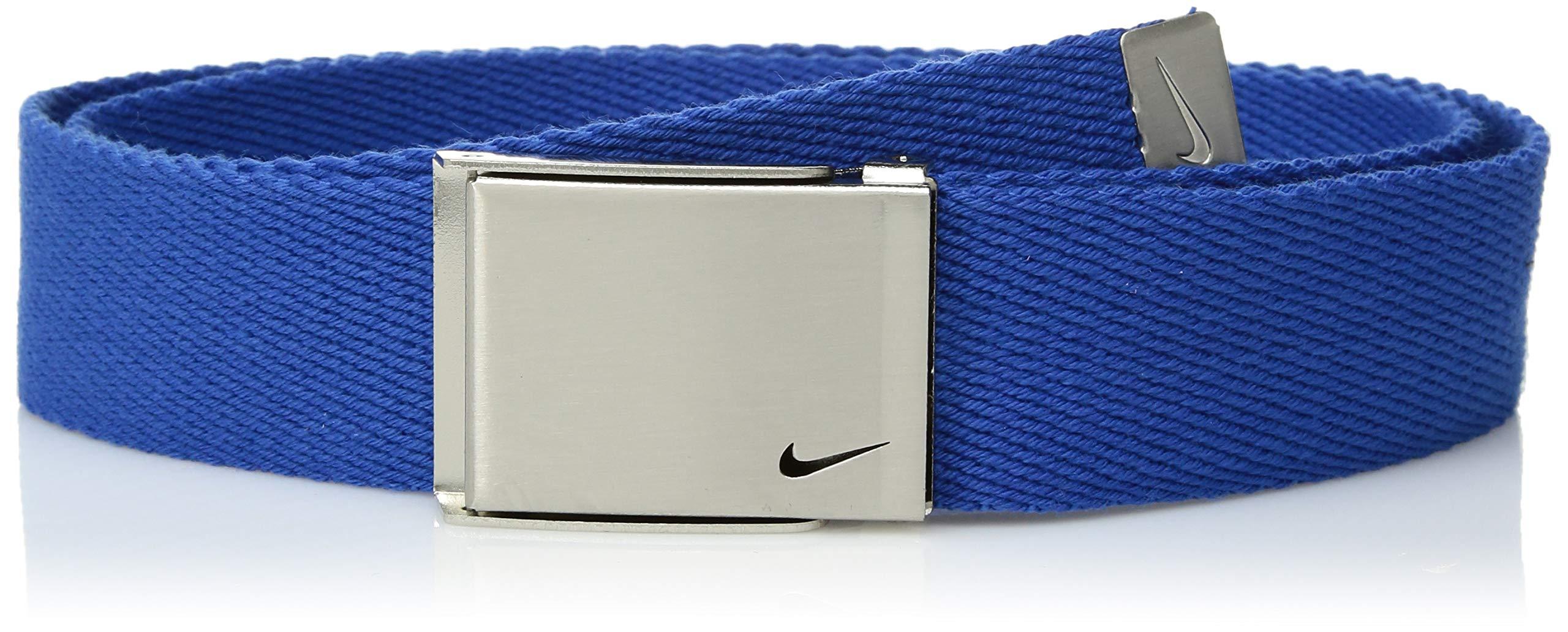 Nike Big Boys' Single Web Belt, Game Royal, One Size