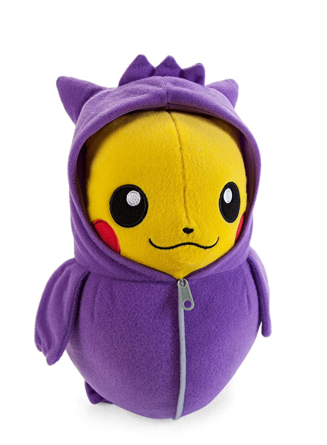 Pokemon Pikachu in Gengar Sleeping Bag 10 Inch Nebukuro Collection Juguete De Peluche