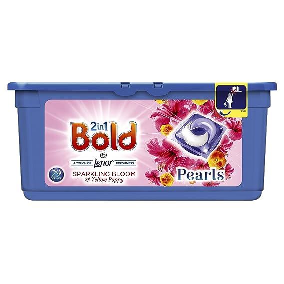 Bold 2 en 1 perlas peonía y Cherry Blossom lavado cápsulas, 29 lavados: Amazon.es: Salud y cuidado personal