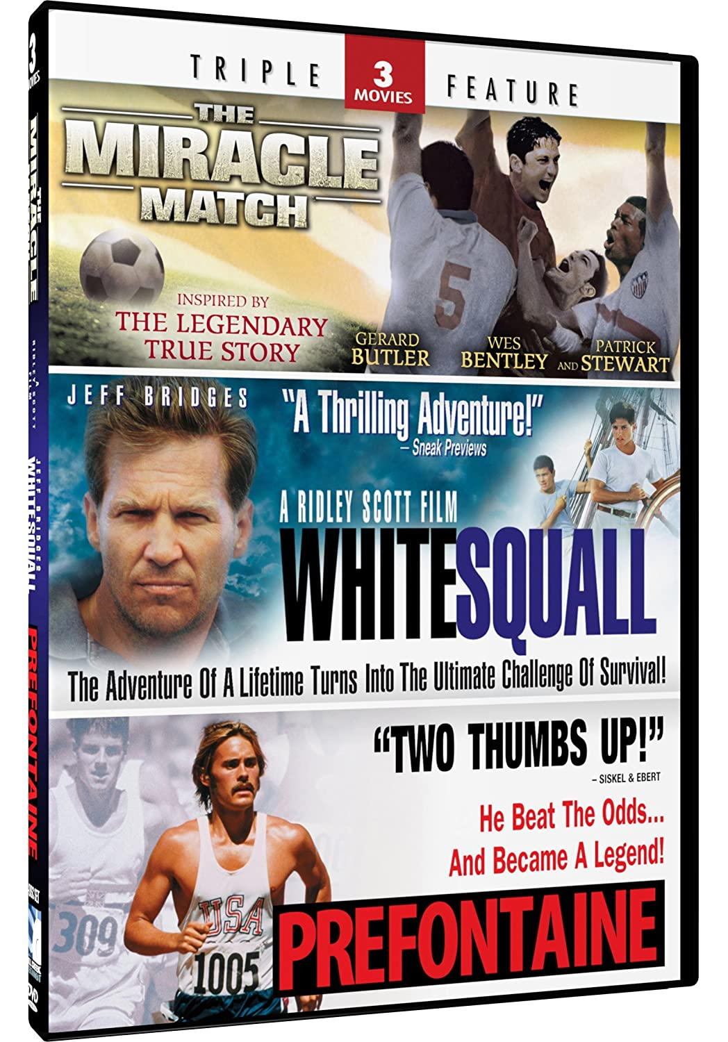 Miracle Match & Prefontane + White Squall - Triple Feature
