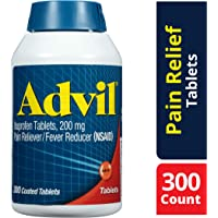 300-Count Advil Pain Reliever & Fever Reducer Tablets 200mg
