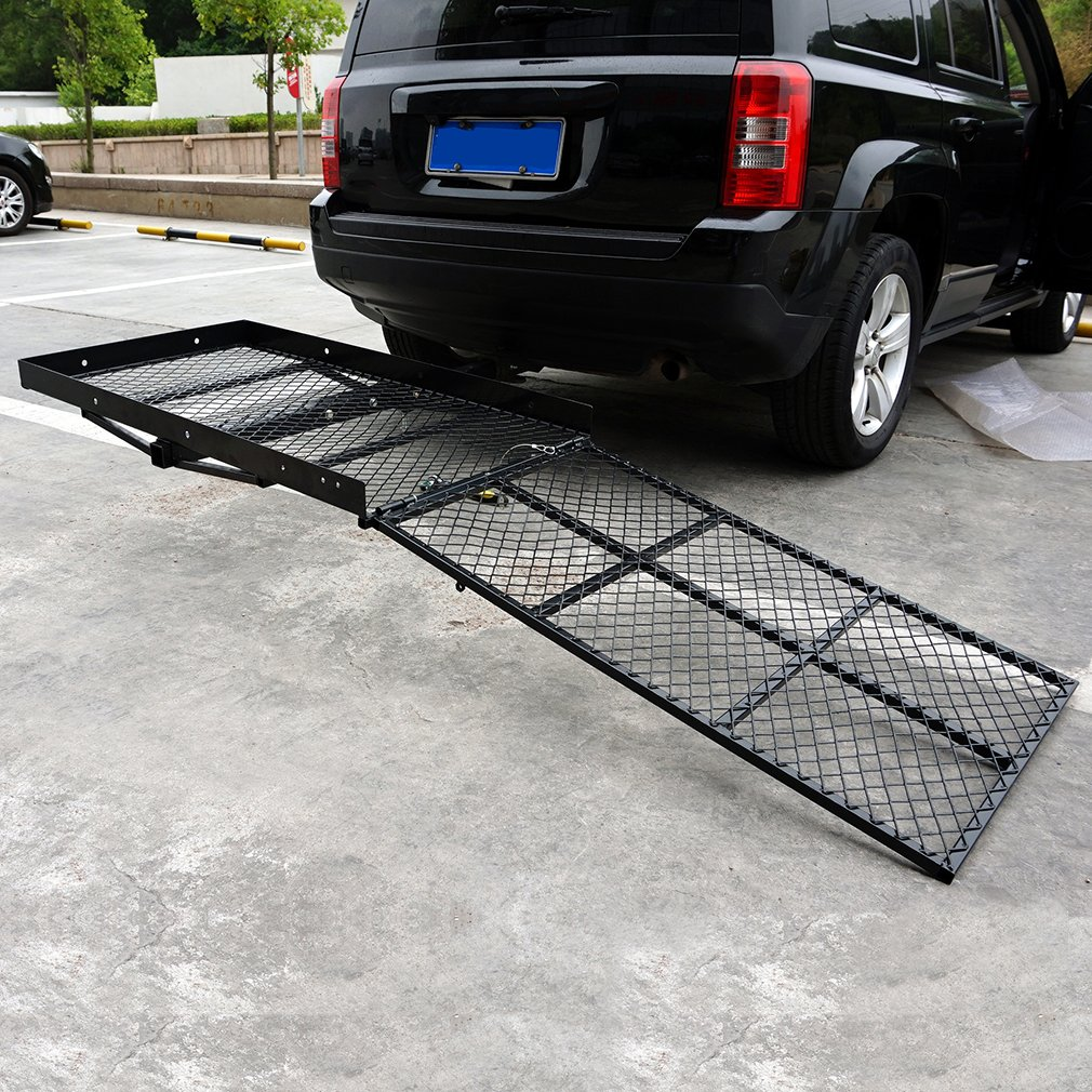 Homgrace Wheelchair Carrier Mobility Scooter Loading Rack Ramp