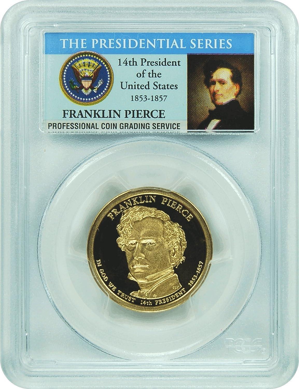 2014 S $1 Herbert Hoover Dollar PCGS PR70DCAM