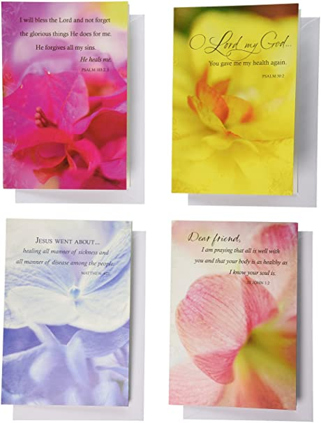 Amazon dayspring get well boxed greeting cards w embossed dayspring get well boxed greeting cards w embossed envelopes his word m4hsunfo