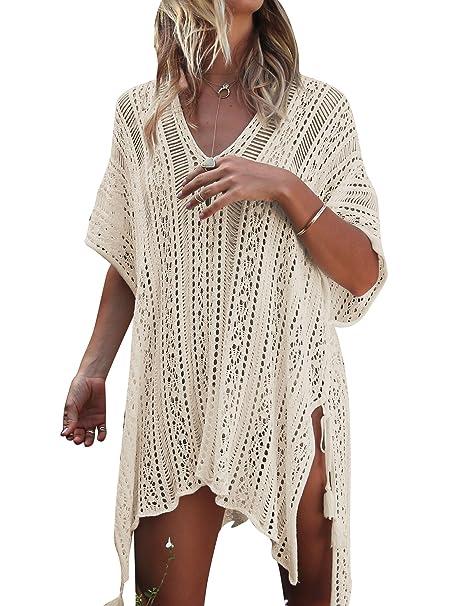 Jeasona Womens Bathing Suit Cover Up Beach Bikini Swimsuit Swimwear