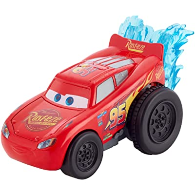 Disney Pixar Cars 3 Splash Racers Lightning McQueen Vehicle: Toys & Games
