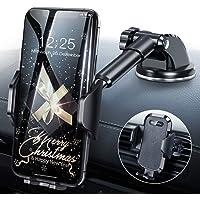 Handyhalterung Auto Handyhalter fürs Auto Lüftung & Saugnapf Halterung Handyhalterung fürs Auto 3 in 1 Universale KFZ Handyhalterung Smartphone Halterung für iPhone/Samsung/Huawei/Xiaomi/LG usw.