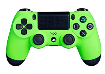 Ps4 Controller Farben.Dualshock 4 Wireless Controller For Playstation 4 Soft Touch Green Ps4 Added Grip For Long Gaming Sessions Multiple Colors Available