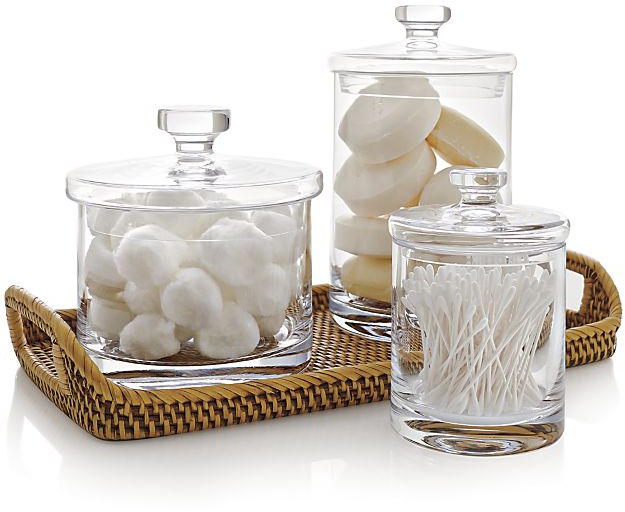 Glass Canisters | Crate and Barrel