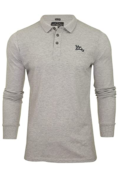 30f78e69386 Image Unavailable. Image not available for. Color  Tokyo Laundry Men s  Cosenza Long Sleeve Polo Shirt ...
