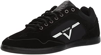 Diesel Men's Happy Hours S-Aarrow Sneaker, Black, ...