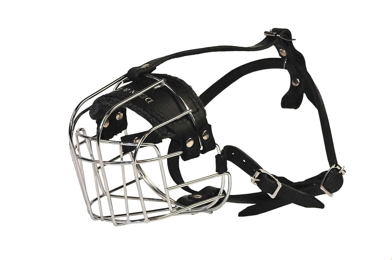 Dean & Tyler Wire Basket Muzzle, Size No. R2-Medium Rottweiler DT Muzzle
